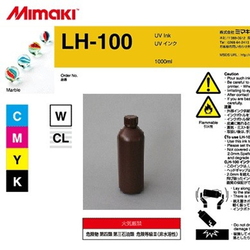 Mimaki LH-100 Yellow Ink - 1L bottle