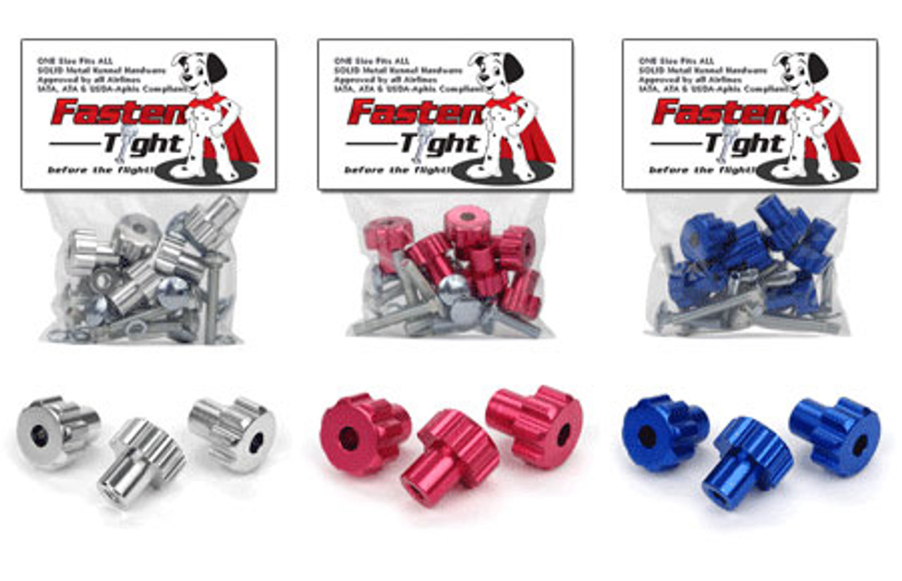 Replacement Kennel Hardware Kit - METAL Nuts