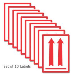 Live Animal Shipping Transport Stickers Usda Iata Sets Bulk