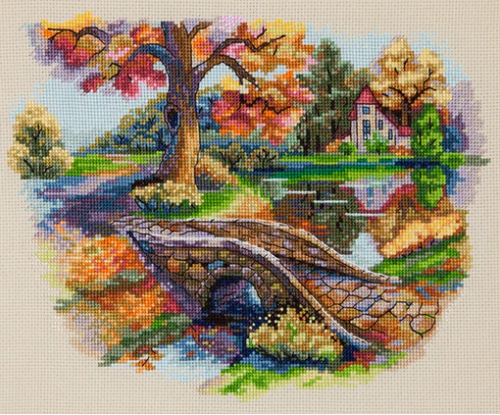 Autumn Landscape - Merejka Counted Cross Stitch Kit