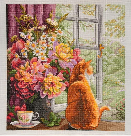 Summer Afternoon - Merejka Counted Cross Stitch Kit