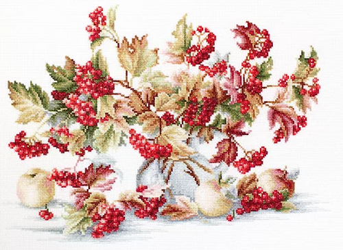 Guelder Rose - Luca S Counted Cross Stitch Kit