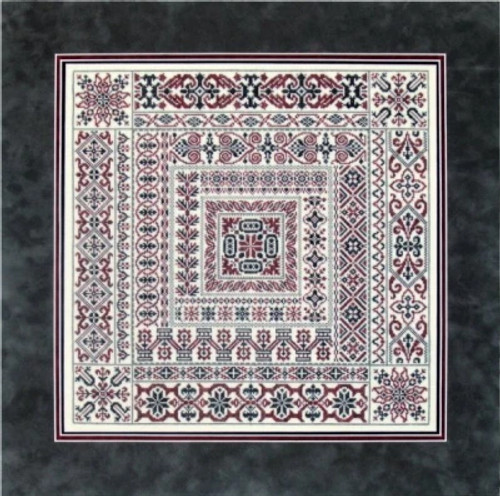 Amtrack - Sampler Cove Counted Cross Stitch Pattern