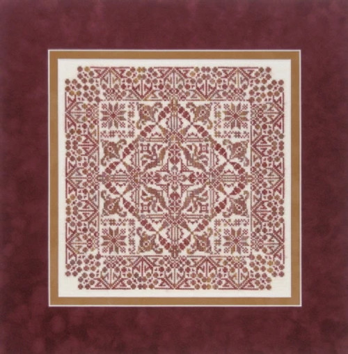 Leona - Sampler Cove Counted Cross Stitch Pattern
