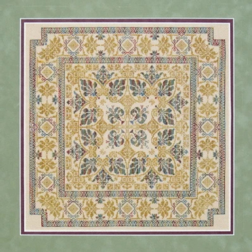 Bellagio - Sampler Cove Counted Cross Stitch Pattern