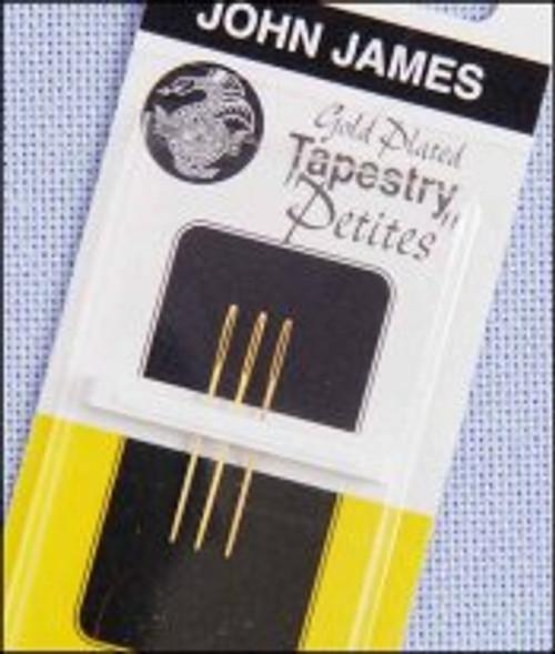John James Tapestry Needle - Size 26 Gold Petite