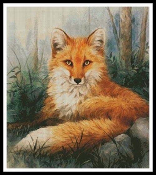 Woodland Beauty Counted Cross Stitch Pattern