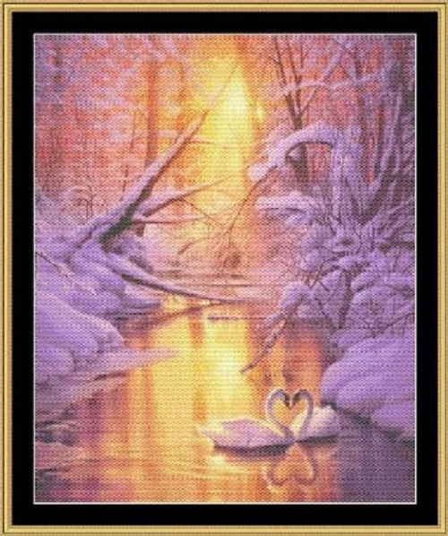Sweet Remembrance Counted Cross Stitch Pattern