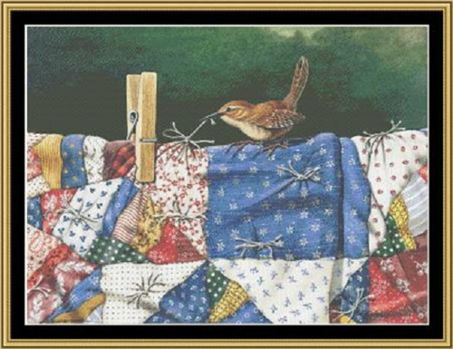 Tug of War Counted Cross Stitch Pattern