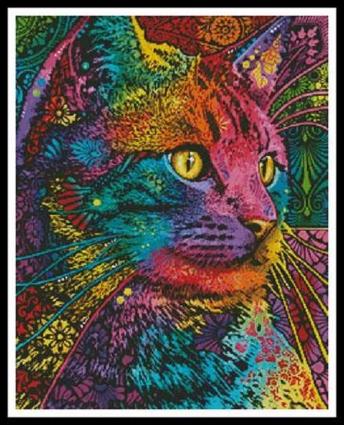Felis Counted Cross Stitch Pattern
