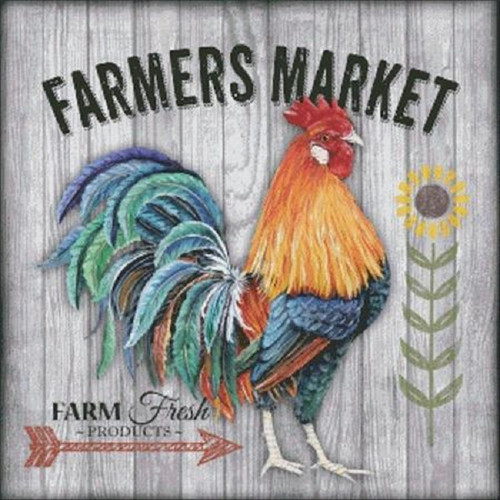 Farmers Market 3 Counted Cross Stitch Pattern