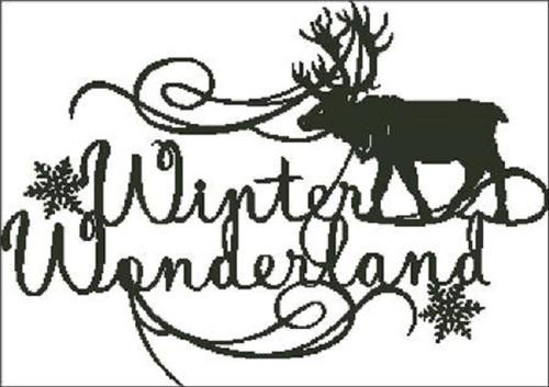 Winter Wonderland Counted Cross Stitch Pattern