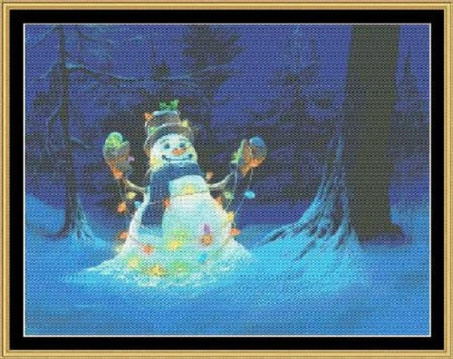 Let it Glow Counted Cross Stitch Pattern