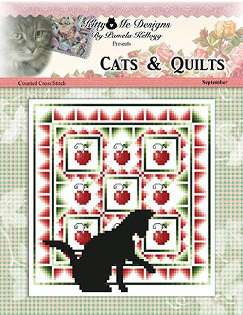 Cats and Quilts September Counted Cross Stitch Pattern
