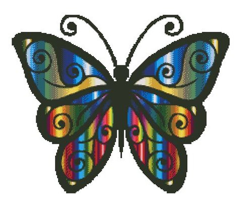 Iridescent Butterfly - PDF Download