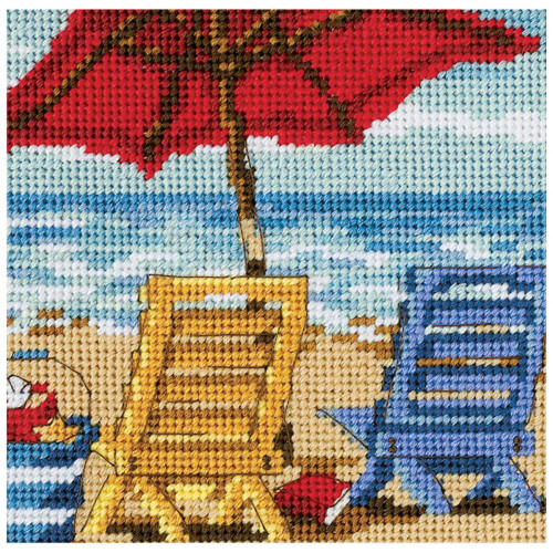 Beach Chair Duo - Dimensions Mini Needlepoint Kit