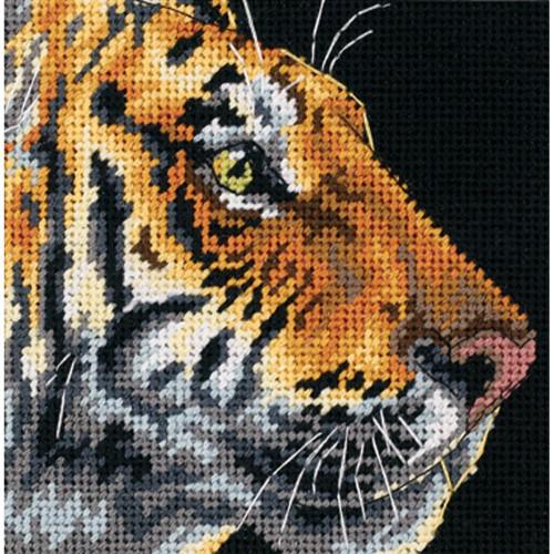 Tiger Profile - Dimensions Mini Needlepoint Kit