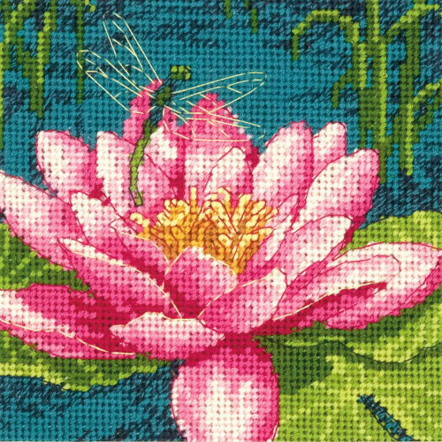 Dragonlily - Dimensions Mini Needlepoint Kit
