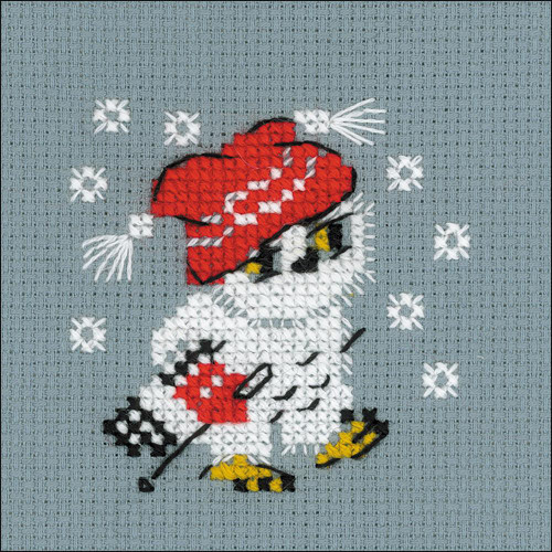 Snow - Riolis Counted Cross Stitch Kit
