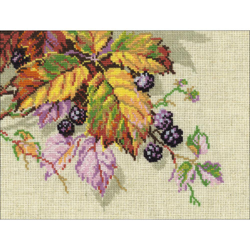 Blackberries - Riolis Counted Cross Stitch Kit