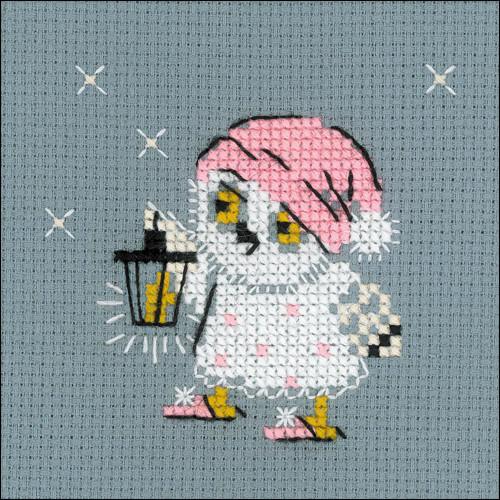 Lantern - Riolis Counted Cross Stitch Kit