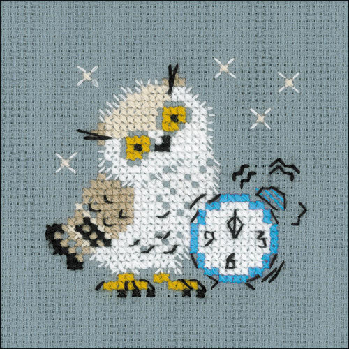 Alarm Clock - Riolis Counted Cross Stitch Kit