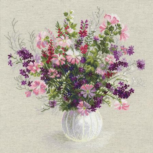 Summer Bouquet - Riolis Counted Cross Stitch Kit