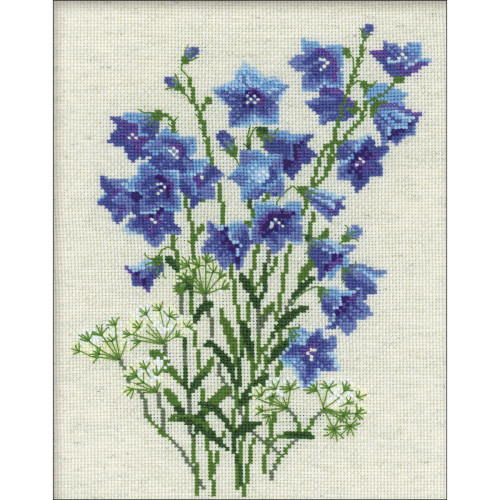 Blue Bells - Riolis Counted Cross Stitch Kit