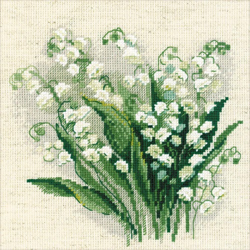 Lilly of the Valley - Riolis Counted Cross Stitch Kit