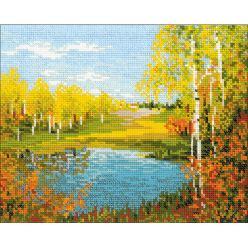 Autumn Day - Riolis Counted Cross Stitch Kit
