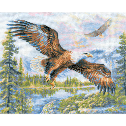 Free Fall - Riolis Counted Cross Stitch Kit