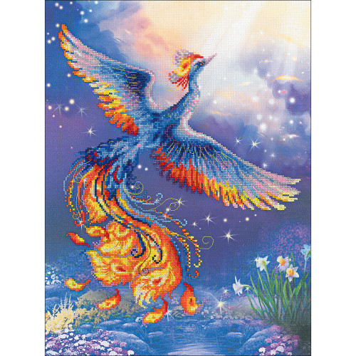 Bird of Happiness - Riolis Stamped Cross Stitch Kit