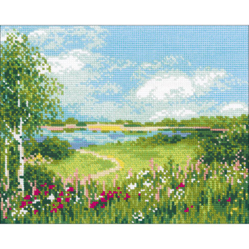 Path to the Lake - Riolis Counted Cross Stitch Kit