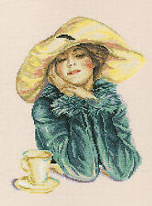 Mysterious Lady - RTO Counted Cross Stitch Kit