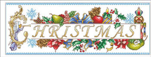 Christmas Greetings - Vickery Collection Counted Cross Stitch Pattern