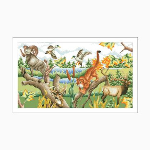 Sportsman's Paradise - Vickery Collection Counted Cross Stitch Pattern