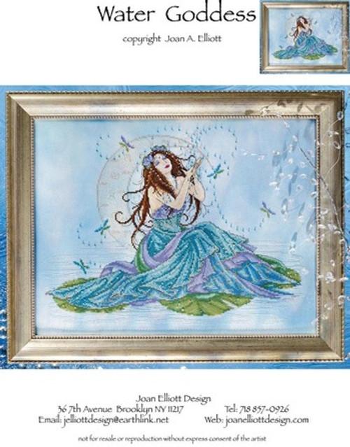 Water Goddess - Joan Elliott Design Counted Cross Stitch Pattern