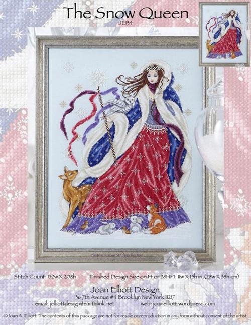 The Snow Queen - Joan Elliott Design Counted Cross Stitch Pattern
