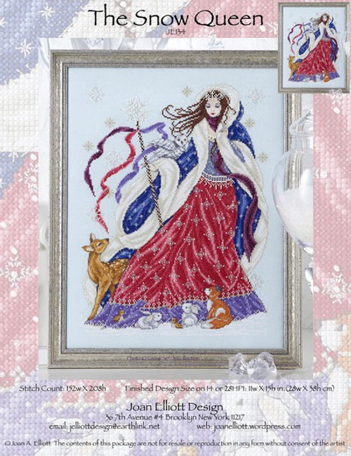 The Snow Queen - Joan Elliott Design Counted Cross Stitch Pattern