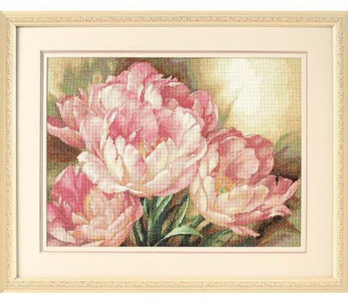 Tulip Trio - Dimensions Gold Collection Counted Cross Stitch Kit