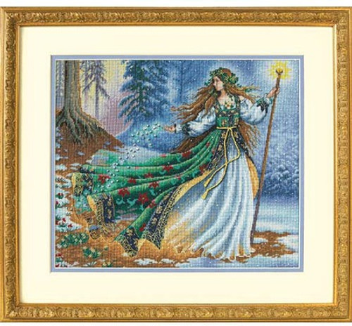 Woodland Enchantress - Dimensions Gold Collection Counted Cross Stitch Kit