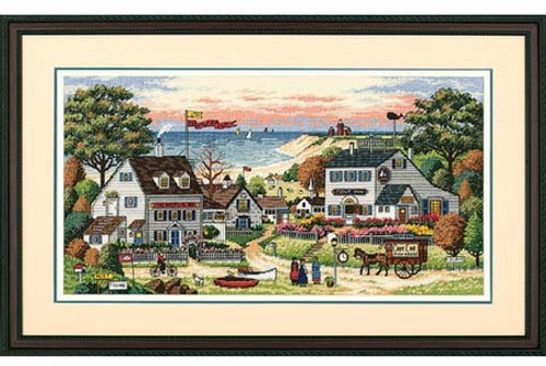 Cozy Cove - Dimensions Gold Collections Counted Cross Stitch Kit