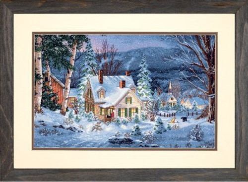 Winter's Hush - Dimensions Gold Collection Counted Cross Stitch Kit