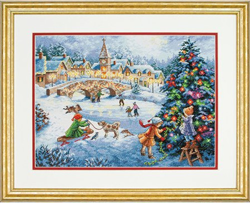 Winter Celebration - Dimensions Gold Collection Counted Cross Stitch Kit
