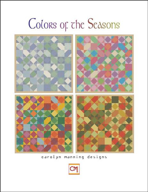 Colors of the Season Counted Cross Stitch Pattern CM Designs