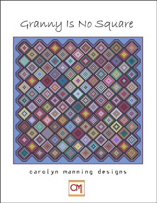 Granny Is No Square Counted Cross Stitch Pattern