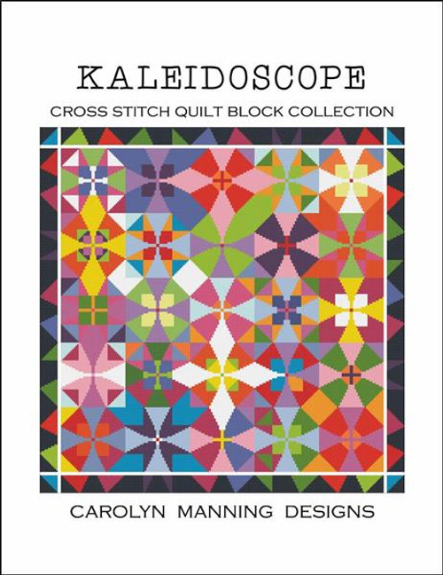 Kaleidoscope Counted Cross Stitch Pattern