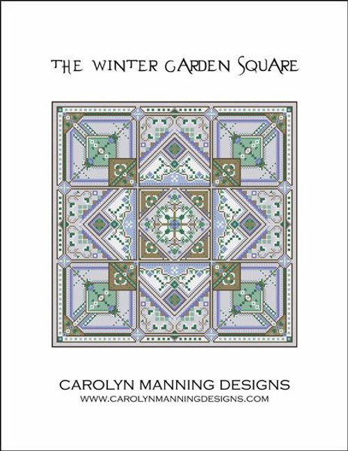 The Winter Garden Square Counted Cross Stitch Pattern