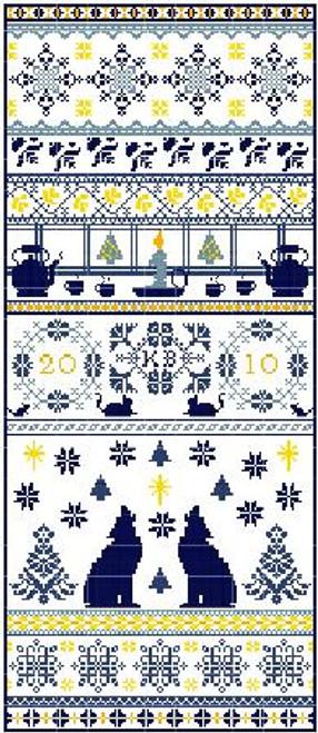 Northern Lights - Gracewood Stitches Counted Cross Stitch Pattern