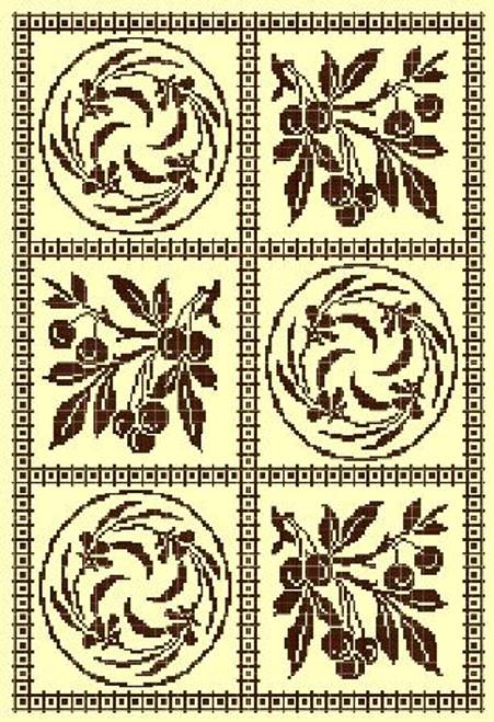 Coromandel - Gracewood Stitches Counted Cross Stitch Pattern